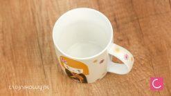Kubek do herbaty gejsza (żółte włosy) 250 ml