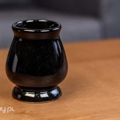 Matero do yerba mate klasyczne czarne gruszka 220ml