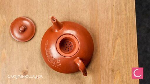 Czajnik do herbaty gliniany + czarki