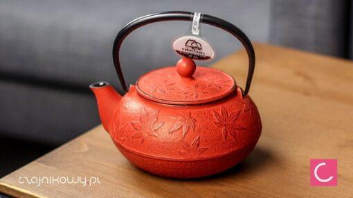 Żeliwny czajnik do herbaty Iwachu Momiji 550ml