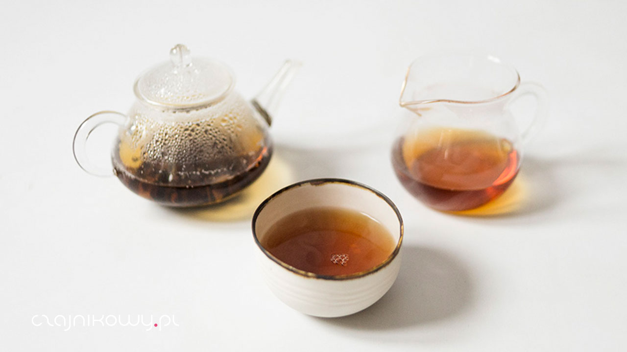 Herbata czarna Yunnan Imperial Organic, parzenie, opinie
