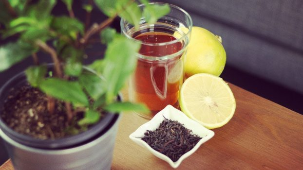 Herbata Earl grey. Czarna herbata z bergamotką