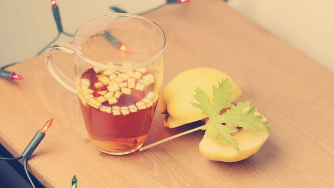 Herbata z pigwą i geranium - przepis