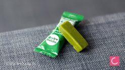 Cukierki karmelki o smaku zielonej herbaty Matcha