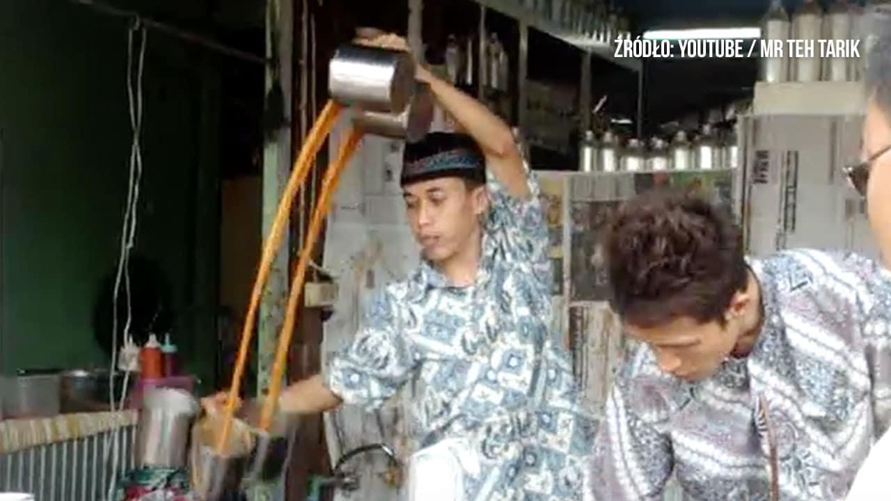 Teh Tarik, czyli herbata po Malezyjsku