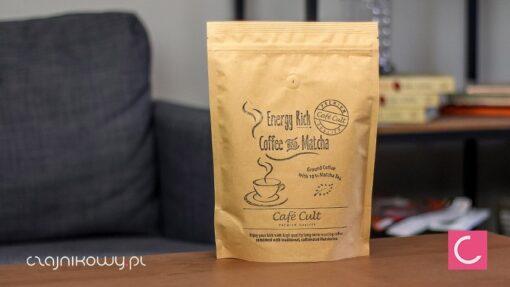 Kawa mielona z dodatkiem herbaty Matchy (10%) 250g