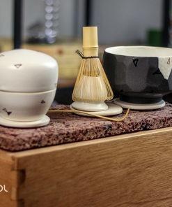 Zestaw do parzenia herbaty Matcha ceramika artystyczna