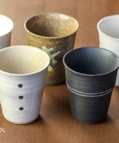 Zestaw pięciu czarek do herbaty Zen 5x 150ml