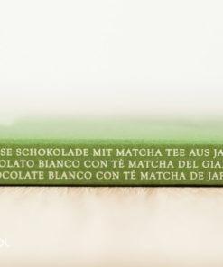 Czekolada biała z zieloną herbatą Matcha 85g