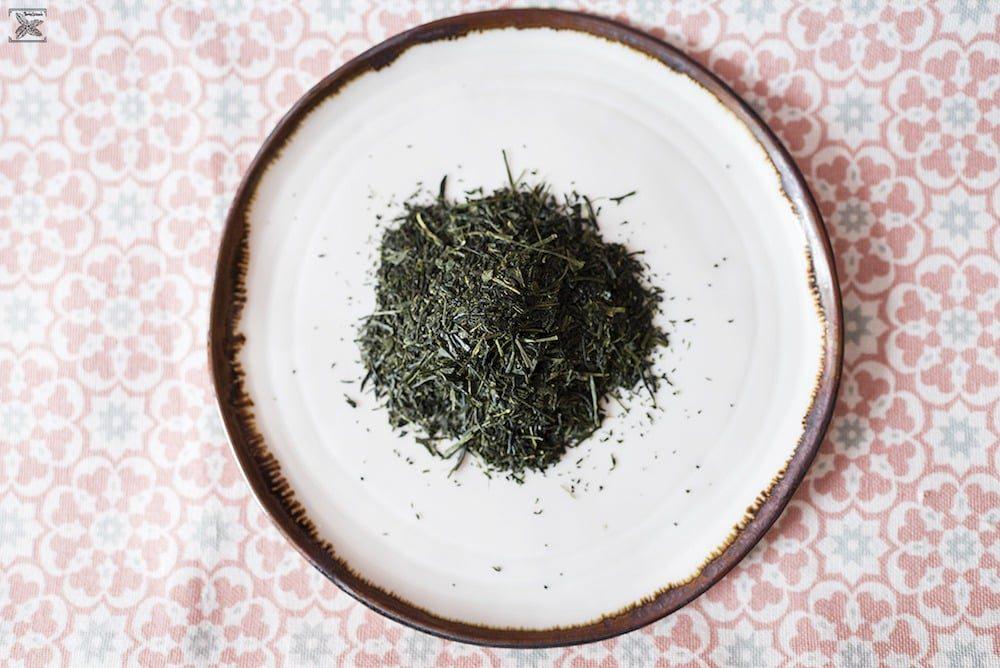 Japońska zielona herbata Shincha: liście