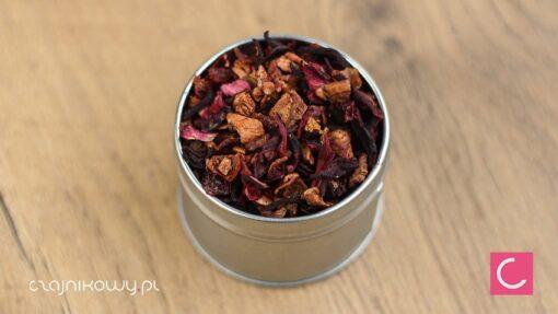 Herbata owocowa morelowa