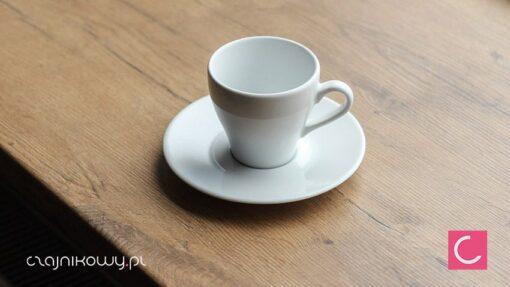 Filiżanka do kawy czarnej ze spodkiem 230ml