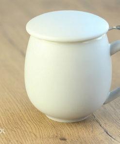 Najlepszy kubek do parzenia herbaty szary matowy 0,35l