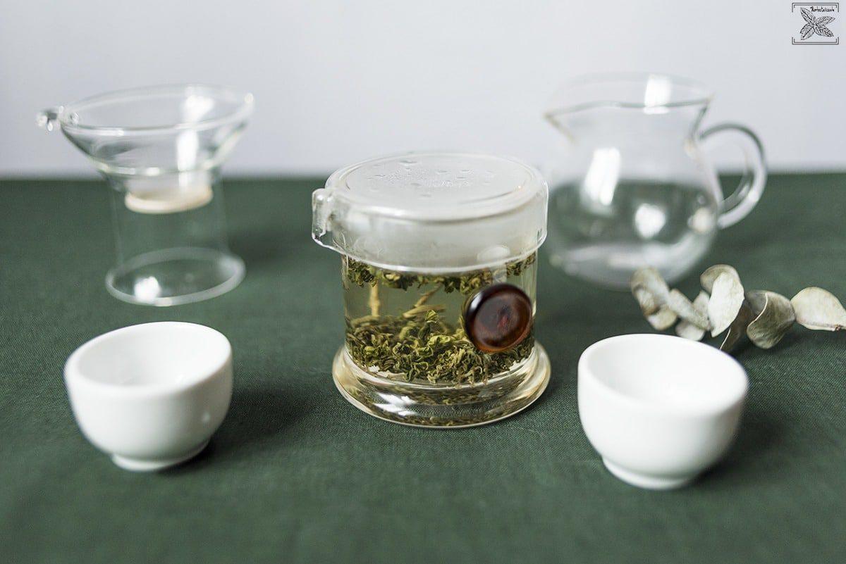 Herbata zielona oolong Haicha, parzenie, opinie: parzenie herbaty