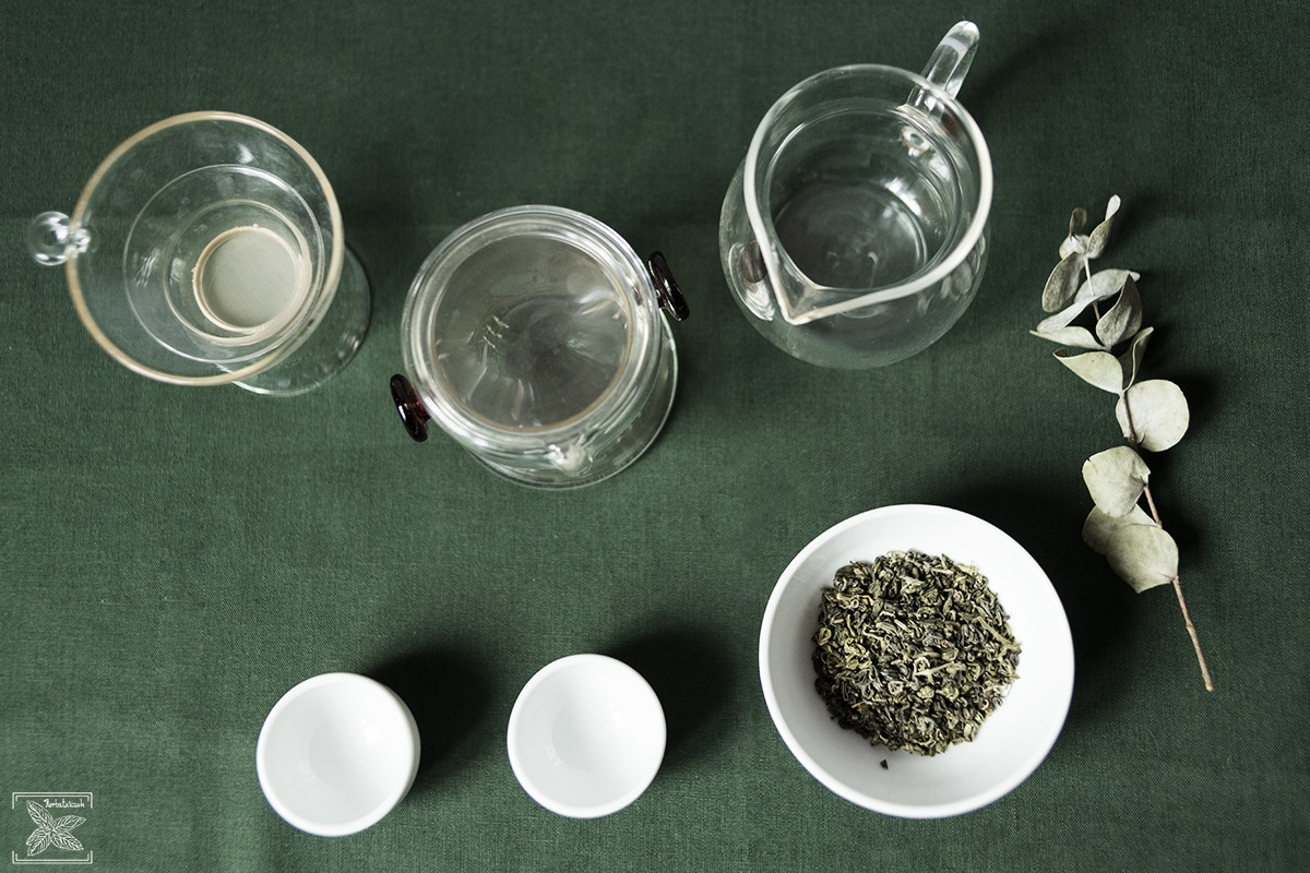 Herbata zielona oolong Haicha, parzenie, opinie: przed parzeniem