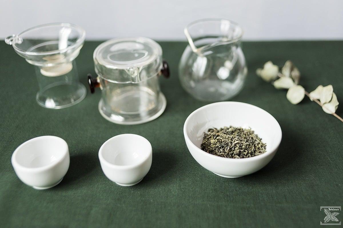 Herbata zielona oolong Haicha, parzenie, opinie: przygotowanie do parzenia