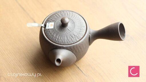 Japoński czajnik do herbaty Tokoname brązowy 360ml