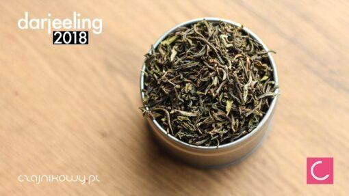 Herbata Darjeeling 2018 organiczna Badamtam