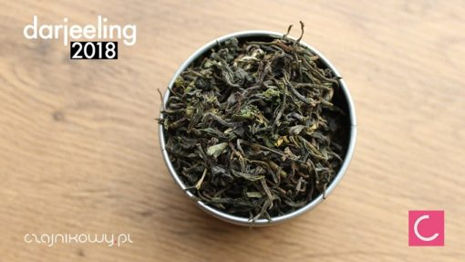 Herbata Darjeeling 2018 Orange Valley organiczna