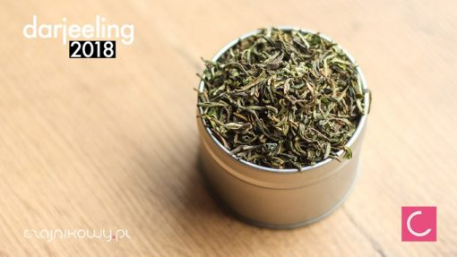 Herbata Darjeeling 2018 Singell organiczna
