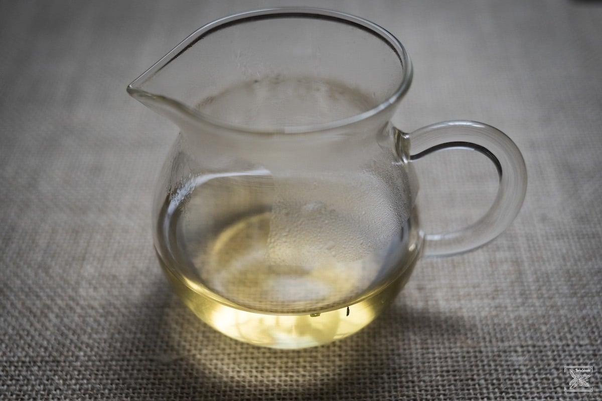 Herbata Darjeeling Phoobsering 2018, pierwsze parzenie