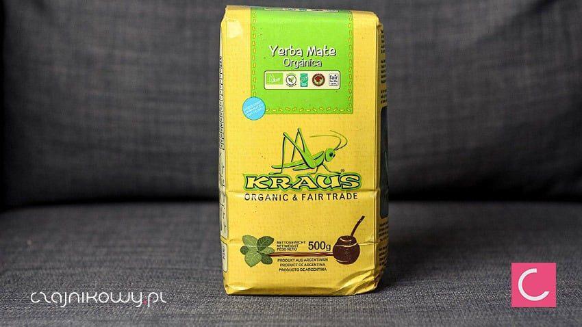 5c6a6f6903111b Yerba mate Kraus Organic 500g – Czajnikowy.pl sklep z herbatą