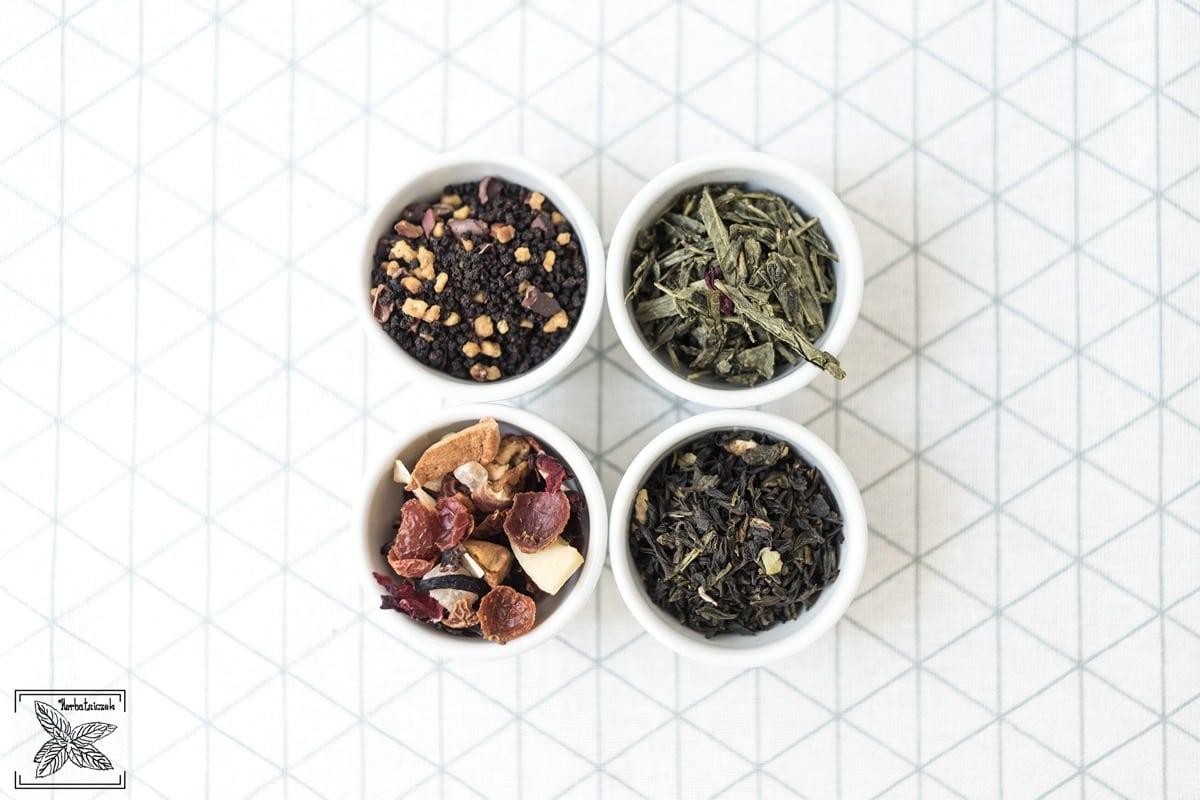 Herbaty aromatyzowane gotowe do parzenia