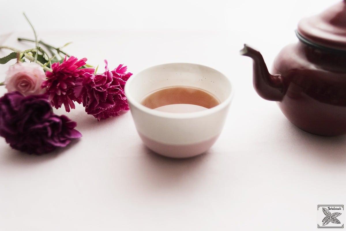 Ruanda FOP Rukeri - czarna herbata: napar (kolor)