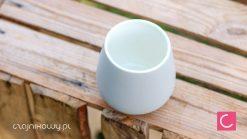 Czarka do herbaty Sara matowa szara 250ml