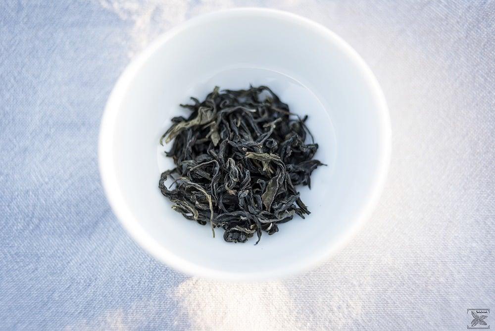 Herbata Puchong Green Oolong organiczna: liście herbaty (susz)