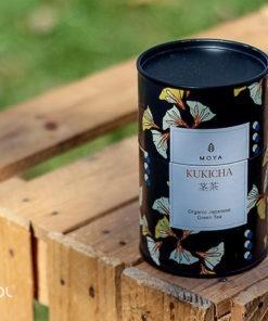 Herbata zielona Moya Kukicha organiczna puszka 60g