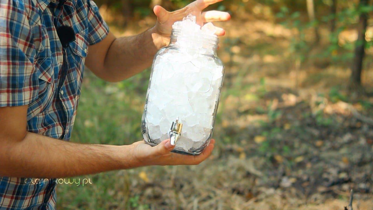 Przepis na oryginalną Sweet Ice Tea z Texasu - galon lodu