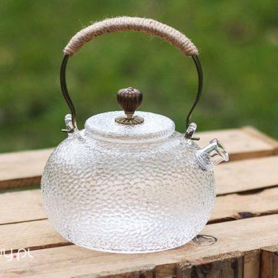 Czajnik szklany do herbaty z sitkiem Oriental 600ml