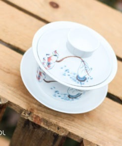 Gaiwan biały do herbaty porcelanowy Catalea 100ml