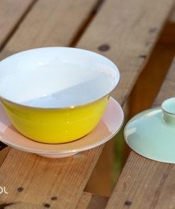 Gaiwan do herbaty kolorowy 100ml