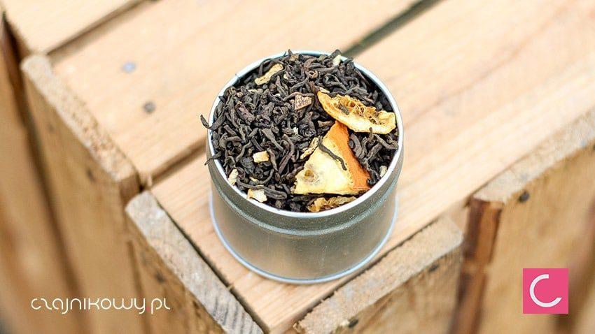 Herbata czerwona pu-erh limonka