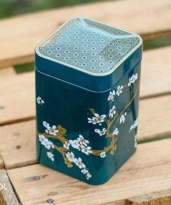 Puszka na herbatę sakura zielona 100g