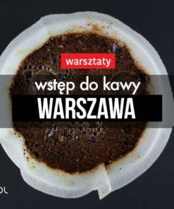 Wstęp do kawy 16 lutego 2019, 14:00 (Warszawa)