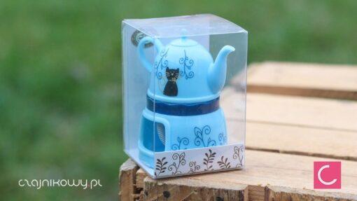 Zaparzacz czajniczek pływający kotek
