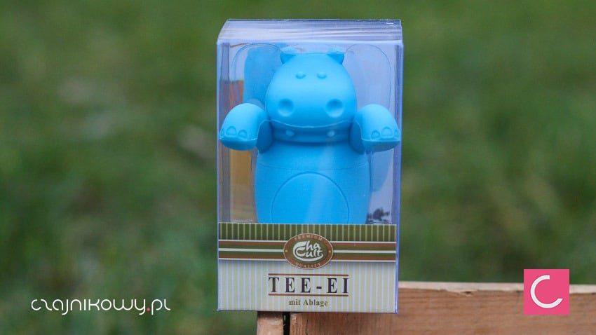 Zaparzacz Hippo hipopotam silikonowy