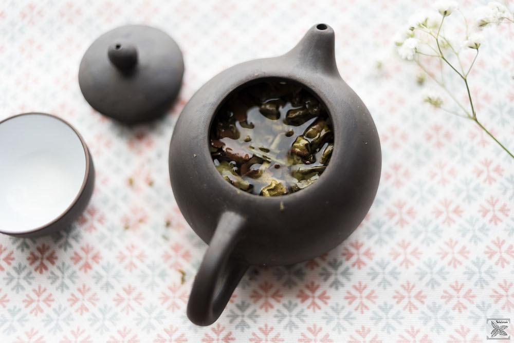 Herbata prasowana Zhangping Shui Xian: parzenie herbaty