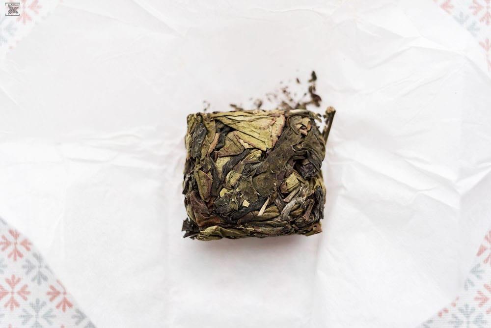 Herbata prasowana Zhangping Shui Xian: susz