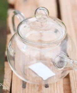 Czajnik szklany do herbaty Hario Asian 180ml ze spiralnym sitkiem
