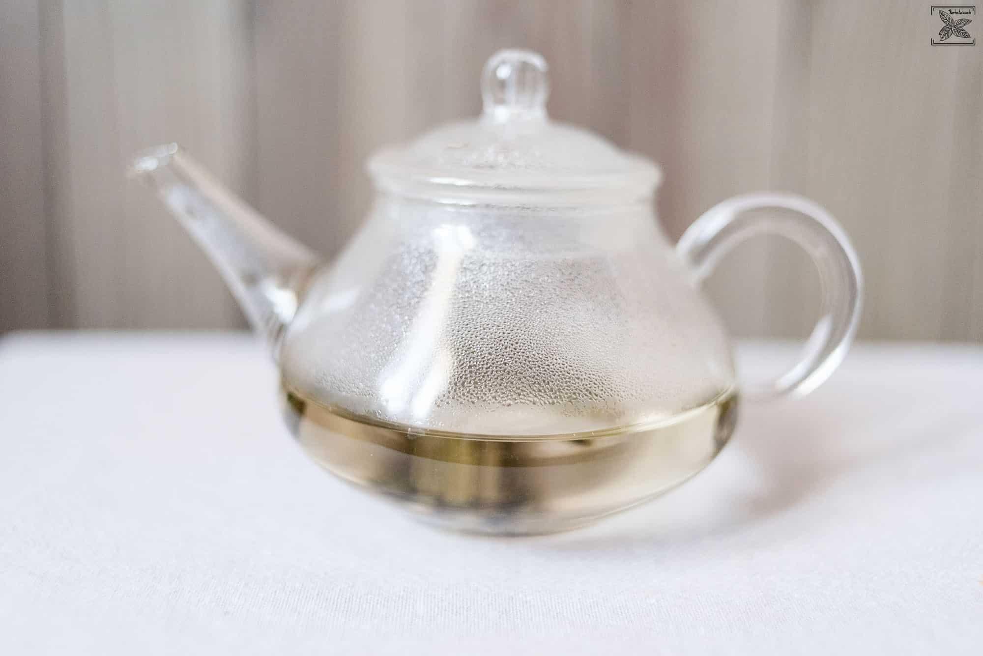 Zielona herbata z Fujian - Oczy Fenixa: parzenie herbaty
