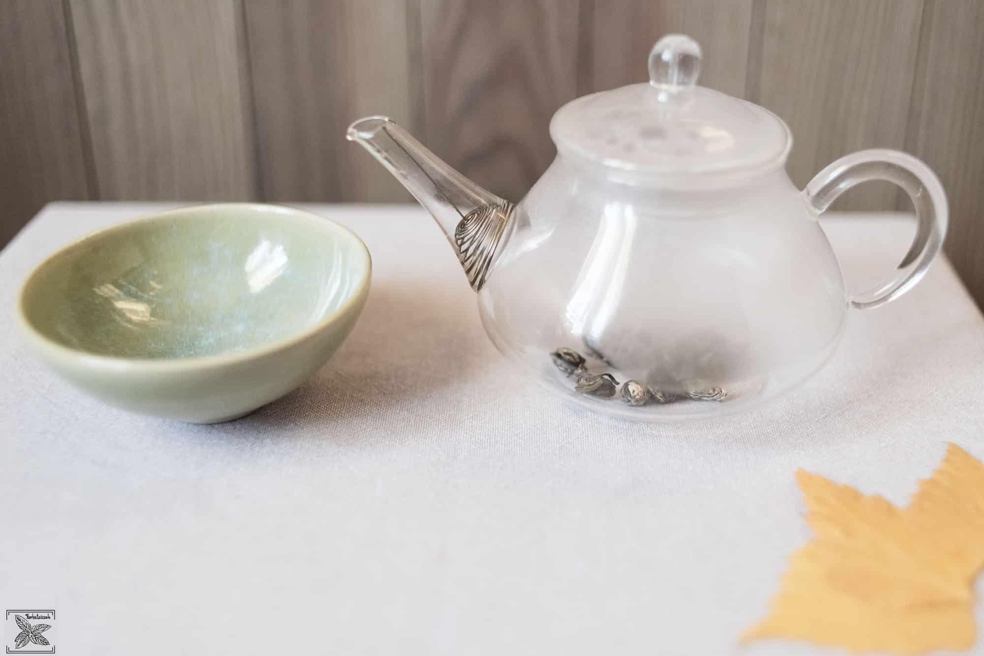 Zielona herbata z Fujian - Oczy Fenixa: przygotowanie do parzenia