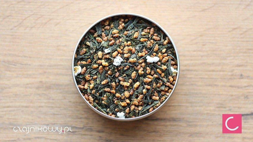 Herbata zielona Japan Genmaicha Premium