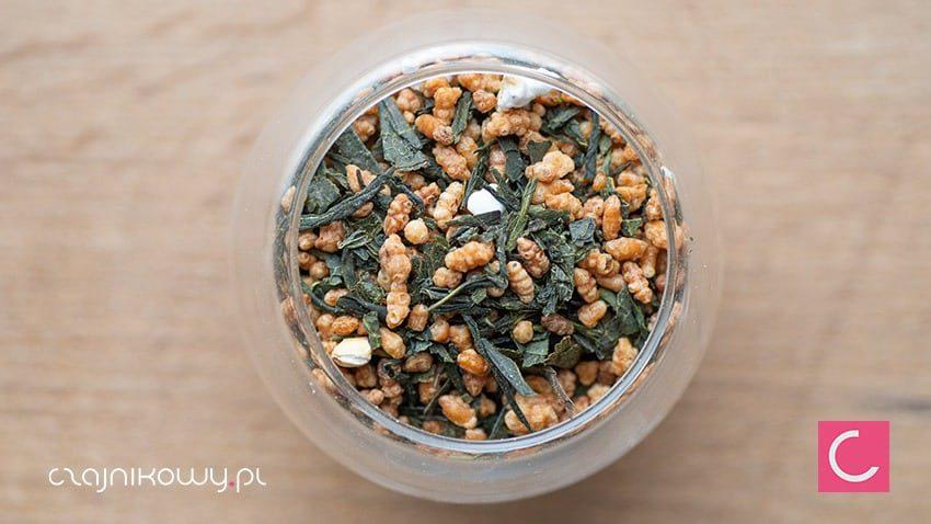 Herbata zielona japońska Genmaicha Premium