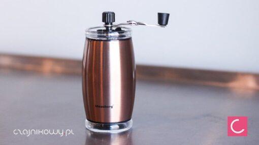 Młynek do kawy ręczny Klausberg 7340