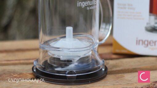 Najlepszy dzbanek do herbaty IngenuiTEA 2: wymienne sitko