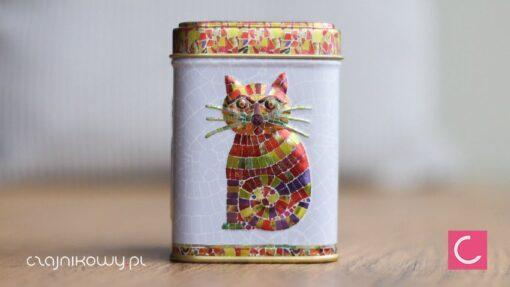 Puszka na herbatę Kot Mozambik 50g